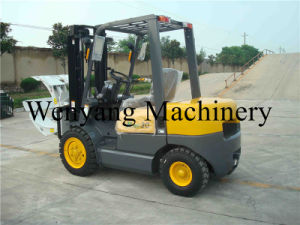 3ton Handling Equipment 3000kg Diesel Forklift with Paper Roll Clamp pictures & photos