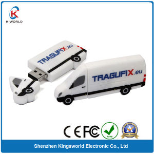 Custom Rubber Car USB Flash Drive (KW-0170) pictures & photos