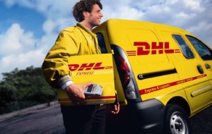 DHL Express to Europe
