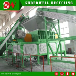 Hot Selling Twin/Two/Double Shaft Shredder for Recycling Waste/Used Tire/Tyre/Wood/Metal pictures & photos