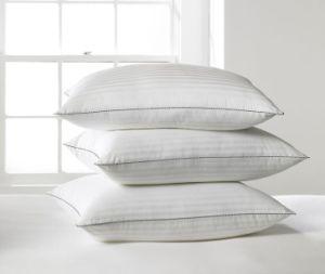 Strip Comfortable Piping Cotton Pillows