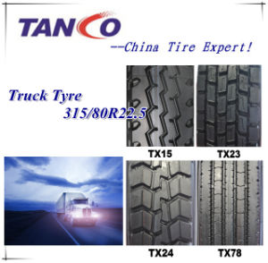 Dump Truck&Bus Radial Tyre 315/80r22.5 pictures & photos