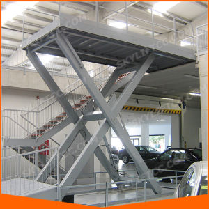 3ton Electric Car Stationary Scissor Lift pictures & photos