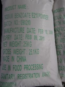 Sodium Benzoate E211 Powder