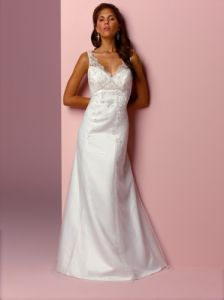 Wedding Dress - Column/Sheath