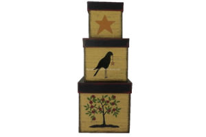 New Design Decorative Classical Paper Gift Set Box (FAFG025) pictures & photos