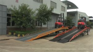15 Ton Mobile Container Load Ramp (Customizable) pictures & photos