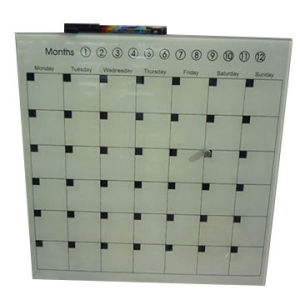 Tempered Glass Months Planner Writeboard pictures & photos