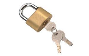 Brass Pin Padlock