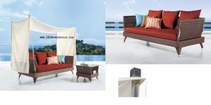 Rattan Sofa Bed of Outdoor Furniture (5023) pictures & photos