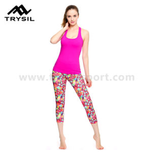 2017 New Arrival Fitness Leggings Women Sport Wear Yoga Pants Workout Gym Legging Pants pictures & photos