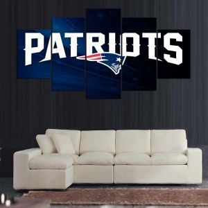 5 Pieces/Set Patriotic Printed Painting on Canvas Patriots Modern Home Wallpaper Prints Liveing Room Decoration Mc-166 pictures & photos