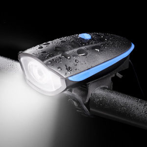LED USB Rechargeable Headlight Head Light Flash Bicycle pictures & photos