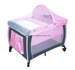 Baby Crib (CA-PP60) pictures & photos