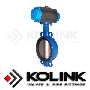 Pneumatic Butterfly Valve Wafer Type