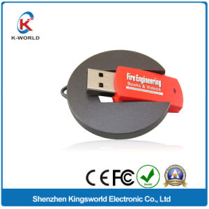 Colorful 4GB Round Rotating USB /USB Drive pictures & photos