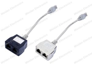 Cat5e RJ45 Ethernet Splitter Adapters pictures & photos