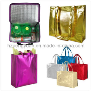 PP Non-Woven Fabric Coated Aluminum Foil Insulated Bags pictures & photos