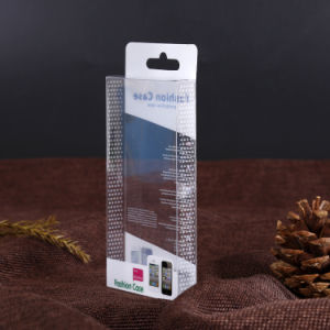 OEM gift plastic packing box for mobile phone case pictures & photos