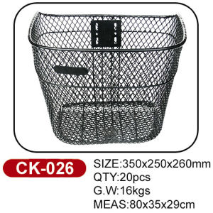 High Standard Quality Bike Basket Ck-026 pictures & photos