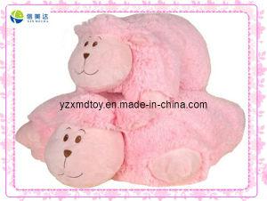 Pink Sheep Plush Pet Pillow (XDT-0264) pictures & photos