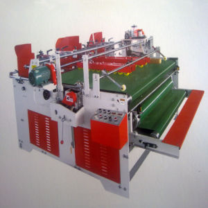 Semi-Automatic Press-Fit Gluing Machine/Manual Folder Gluer pictures & photos