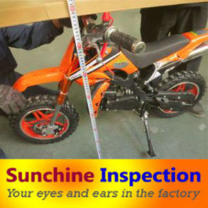 Electric Mini Moto Pre-Shipment Inspection in Zhejiang / Third Party Inspection Services Supplied in All China pictures & photos
