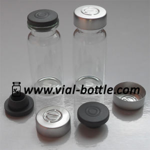 10ml Injection Vial, 20mm Sterile Butyl Rubber Stopper and 20mm Aluminum Cap for Somatropin Products pictures & photos