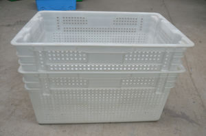 Stackable Plastic Crate Used for Fruits and Vegetables (JW-CN1407323) pictures & photos