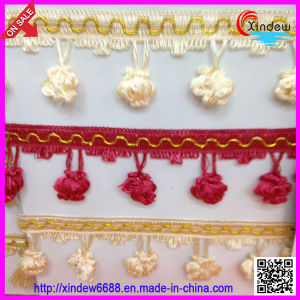 Curtain Tassel Fringe (XDTF-005) pictures & photos