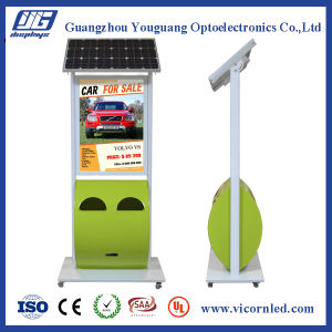 Green Color Solar Power LED Light Box pictures & photos