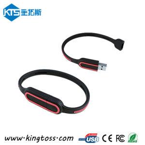 Silicone Bracelet USB Memory Stick, Flash Drive Wristband Disk (KTS011)
