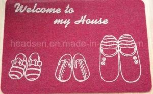 Most Popular Anti-Slip TPR Backing Door Mat pictures & photos