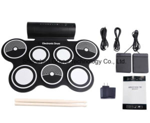 Musical Instruments / USB Roll up Electronic Drum Kit (GW-759) pictures & photos