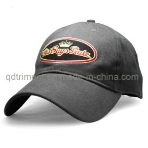 Embossed Plastic Polysnap Embroidery Leisure Sport Golf Baseball Cap (TRB036) pictures & photos
