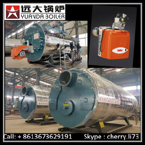 Factory Price High Efficiency 98% Gas Oil Fired Steam Boiler pictures & photos