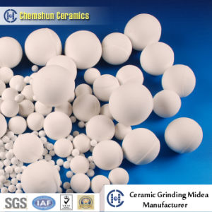 90% 95% Grinding Ceramic Ball with High Crushing Strength pictures & photos