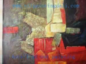 Abstract Oil Painting On Canvas (T85)