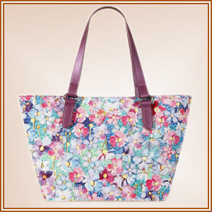 2017 Newest Ladys′ Cotton Digital Printed Bag pictures & photos