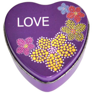 Small Heart shape Tin (YX0103)