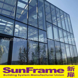 Exposed Frame Aluminium Glazing Curtain Wall System pictures & photos