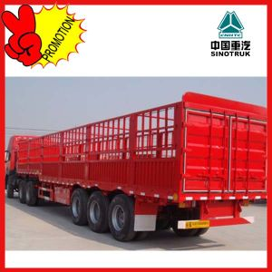 New Brand China Fence Cargo Trailer Truck