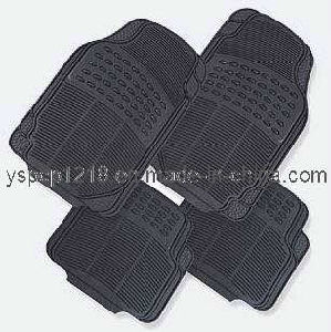 Rubber & PVC Car Mat (YS010)
