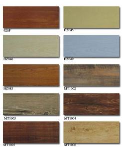 China Wooden Vinyl Floor Tile pictures & photos