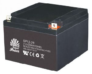 UPS Battery 12V28AH with CE UL ISO9001 Certificate (SP12-28) pictures & photos