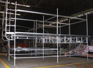 Aluminium Ring Lock System Scaffold Scaffolding