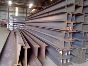 China Wholesale Hot Rolled H Beam pictures & photos