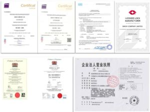 Reddot Design Award 2 Wheel Security Folding Lock pictures & photos