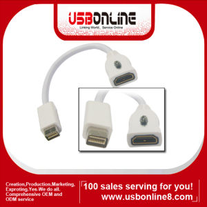 Mini Displayport HDMI Adapter for Apple MacBook+Cable (WSS-HDMI-113)