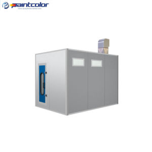 Cross Air Flow Mixing Room Paint Booth (PC-PMR-4) pictures & photos